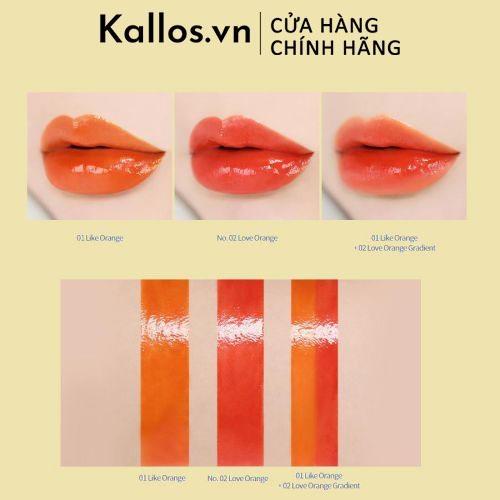 Son Bóng Innisfree Orange Juicy Melting Lip Bar