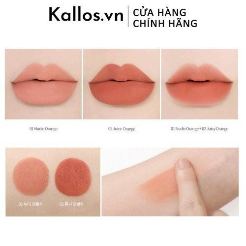 Son Lì Innisfree Orange Smudge Blur Lipstick