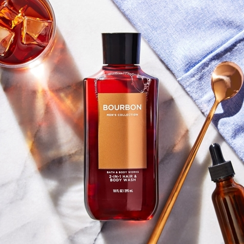 Sữa Tắm Gội Bath & Body Works Bourbon Hair and Body Wash