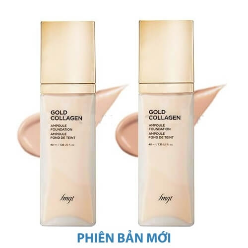 Kem Nền The Face Shop Gold Collagen Ampoule Foundation