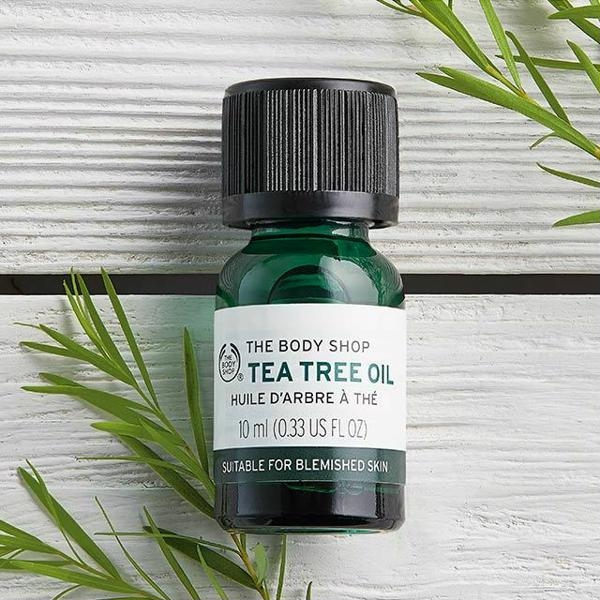 Tinh Dầu Tràm Trị Mụn The Body Shop Tea Tree Oil Huile D'Arbre À Thé