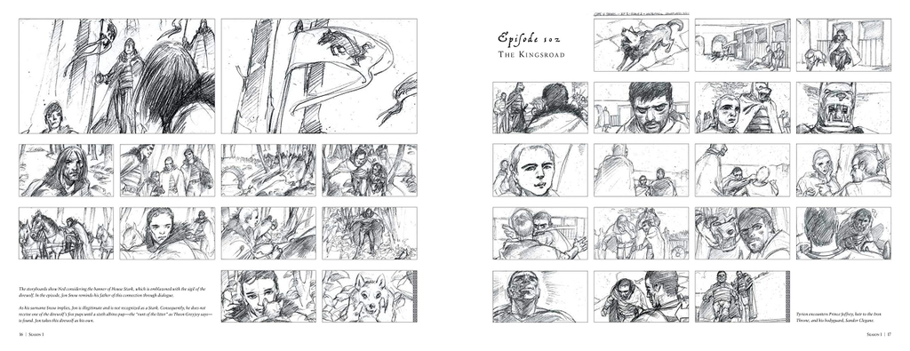 Game of Thrones: The Storyboards
