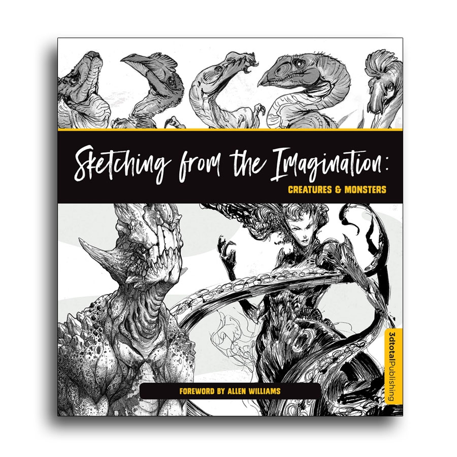 Sketching from the Imagination: Creatures & Monsters