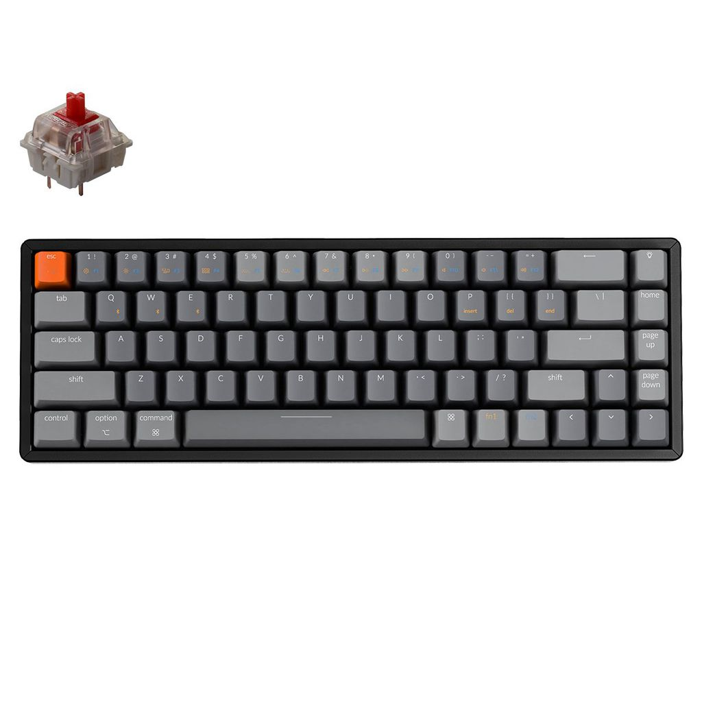 Keychron K6 Nhôm Led RGB - Gateron Switch