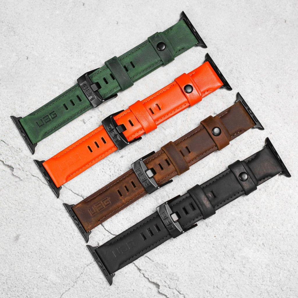 Dây da leather UAG cho apple watch
