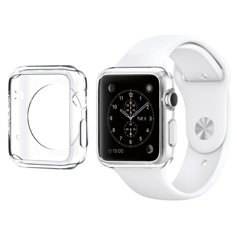 Ốp Silicones Cho Apple Watch