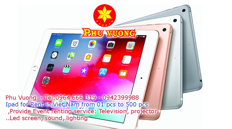 Phu Vuong provide service  Ipad renting in Ha Noi, Viet Nam