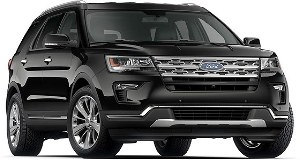 FORD EXPLORER - Đen