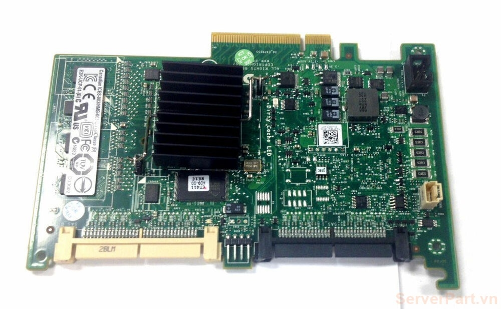 10720 Card Raid sas Dell 6i 256mb 2 port 8484 0H726F