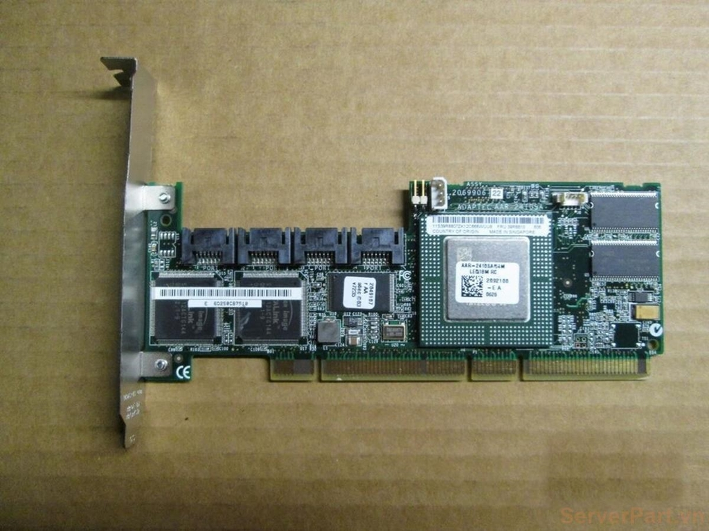 10824 Card Raid sata pci-x IBM 7T 4 port sata 71P8650