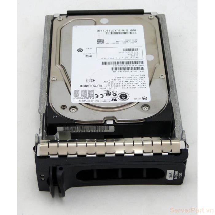 11259 Ổ cứng HDD sas Dell 146gb 15k 3.5