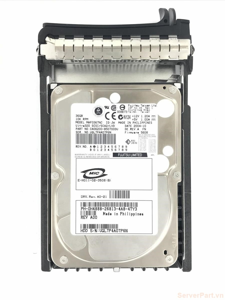 11646 Ổ cứng HDD scsi 80 pin Dell 36gb 10k 3.5