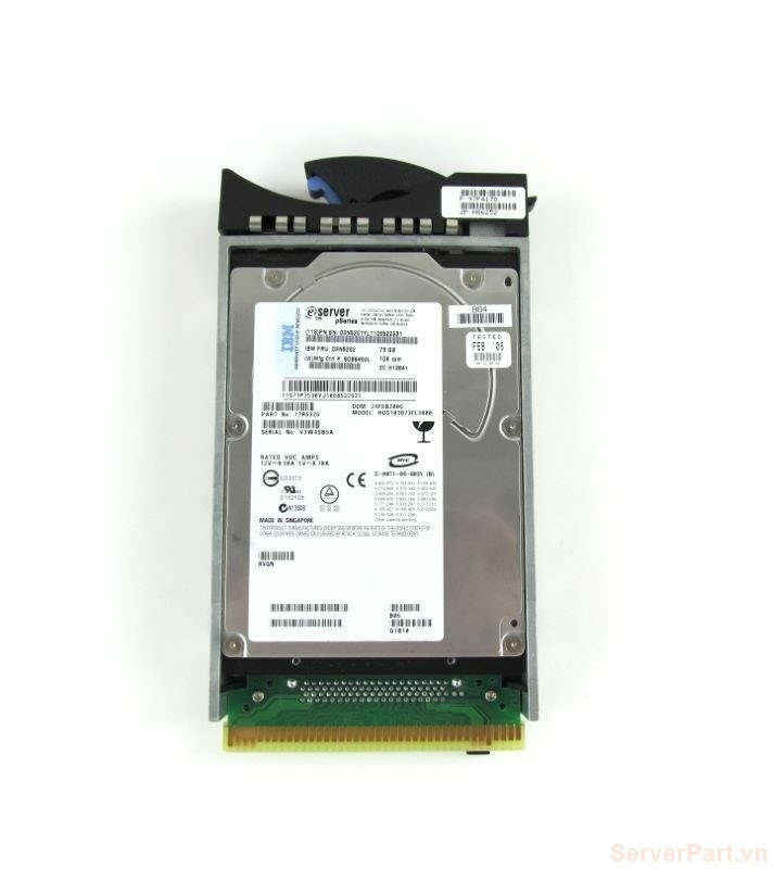 11703 Ổ cứng HDD scsi 80 pin IBM 73gb 10k 3.5