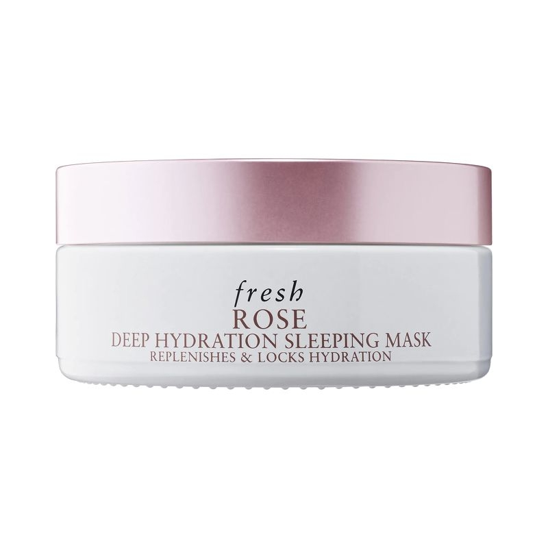Fresh rose deep hydration sleeping mask.