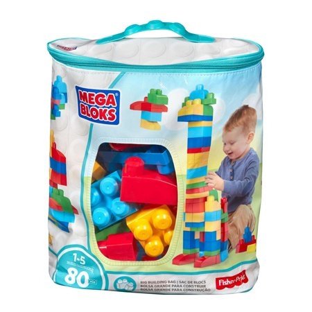 Mega Bloks Blue Building Bag