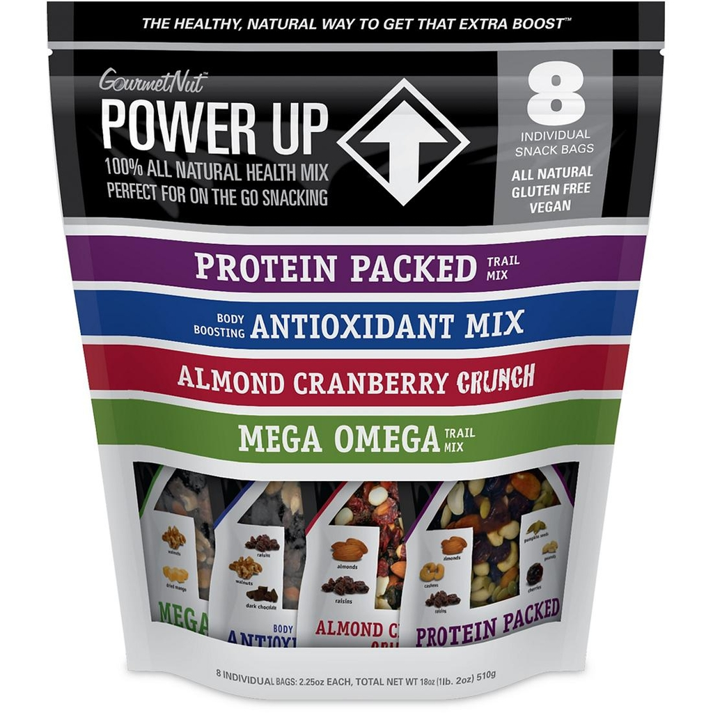 Power Up - Mix 8 individual snack bag
