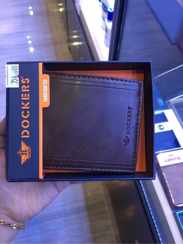 Docker Wallet - Brown