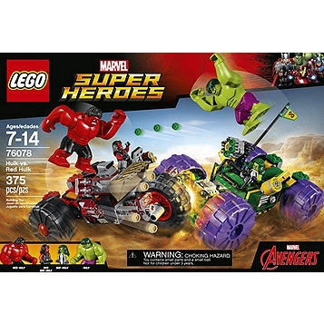 Lego Marvel Super Heroes - Hulk vs Red Hulk