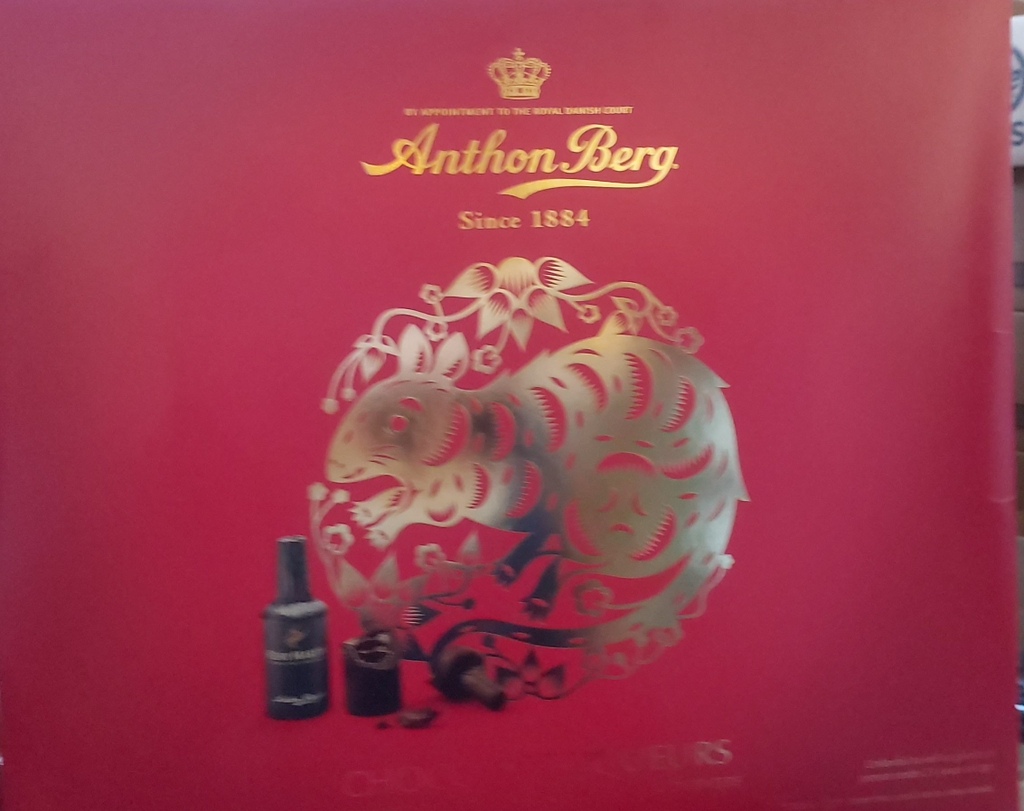 Anthon Berg Red New Year