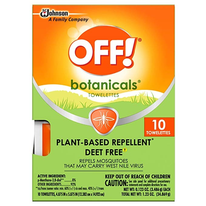 OFF!  repels mosquitoes- Giấy lau chống muỗi