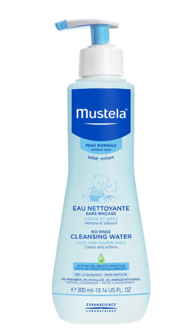 Mustella Cleasing Water 300ml- baby & da nhạy cảm