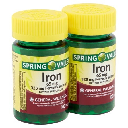 Spring Valley Iron 65mg - 100 viên