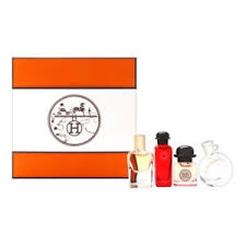 Hermes Miniature Fragrance Coffret 4 Piece Set