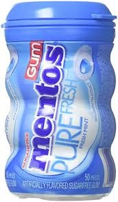 Mentos Pure Fresh Sugar-Free Chewing Gum