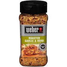 Weber Seasoning, Roasted Garlic and Herb