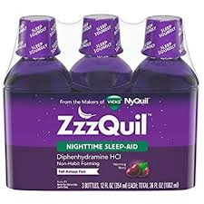 ZzzQuil Nighttime Sleep-Aid, Berry Flavor