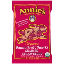 Annie's Organic Fruit Snack Strawberry