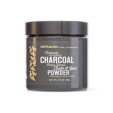 inVitamin Natural Whitening Tooth & Gum Powder with Activated Charcoal