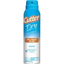 Cutter 4 Ounce Dry Mosquito Repellent