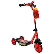 Disney Pixar Cars Huffy 3 wheels Scooter with light  -2 -46.99