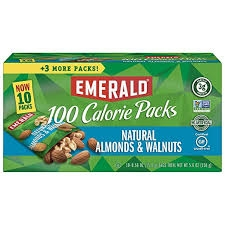Emerald Nuts, Natural Walnuts & Almonds 100 Calories - 18 pk