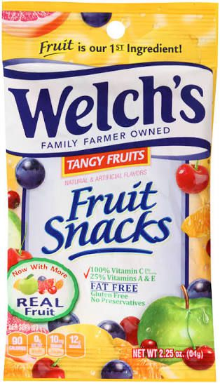 Welch's Tangy fruit