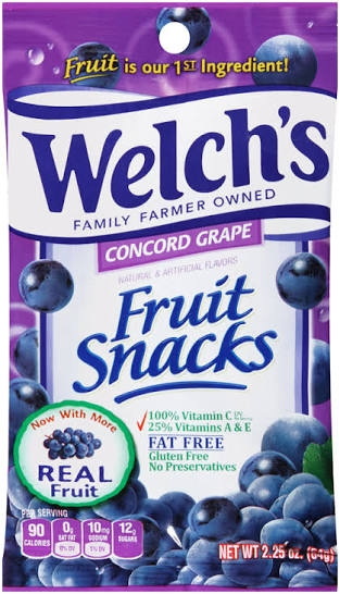 Welch's fruit Snack - Concord Grape