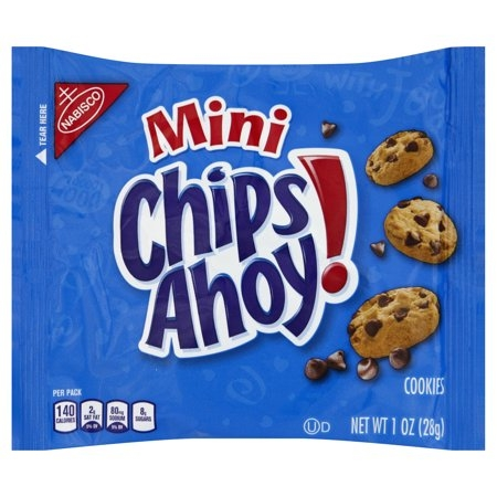 Mini Chips Ahoy 28g- Bánh chocola mini