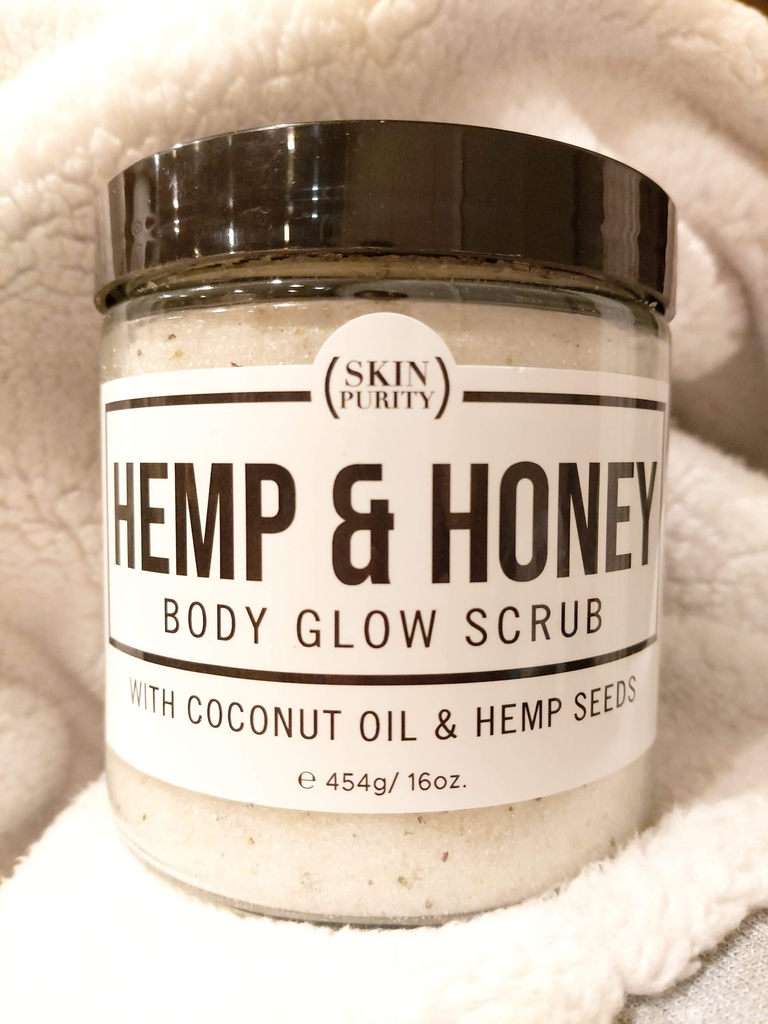 Hemp Honey Body Scrub - Skin Purity