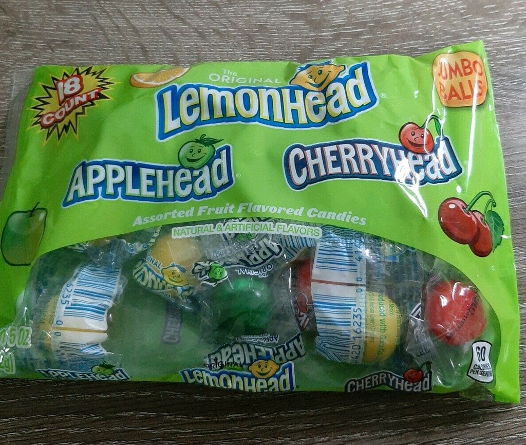 Lemon Head candy