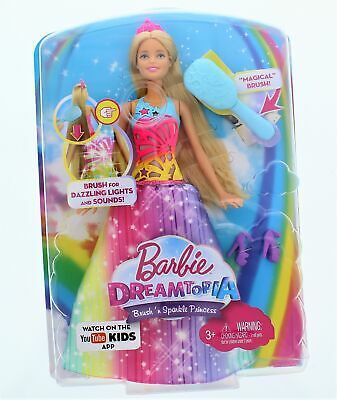 Barbie Dreamtopia Brush Sparkle princess