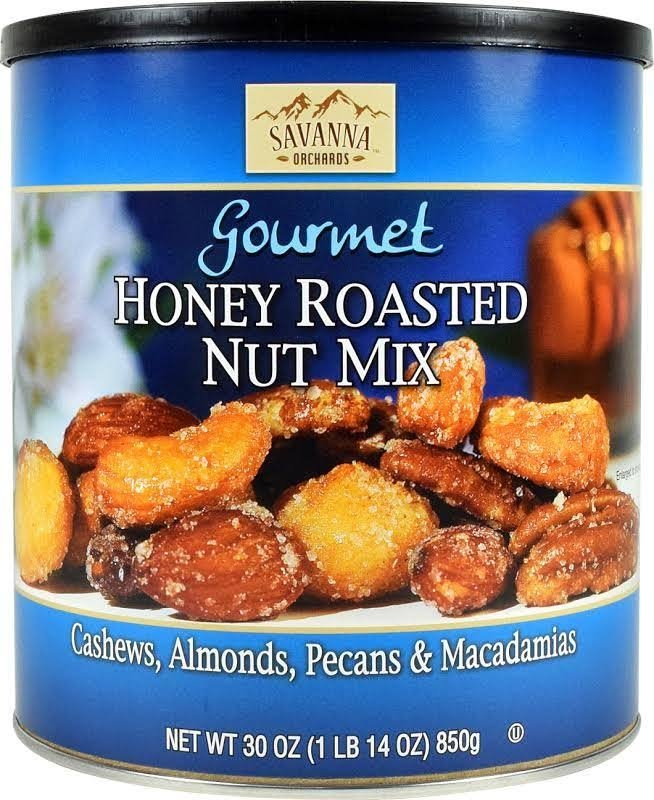 Savanna Gourmet Honey Roasted nut mix 850g