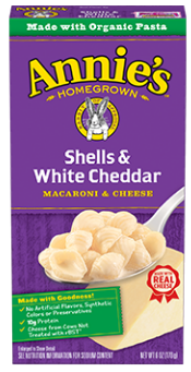 Annie's Homegrown Shell White Cheddar