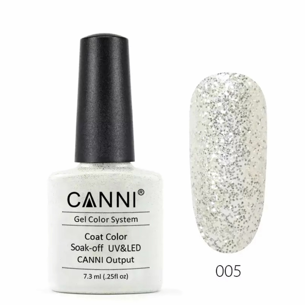005 Light Silver Sequins