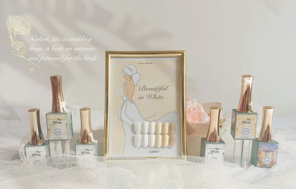Beautiful in White by Secret Garden 6x16ml