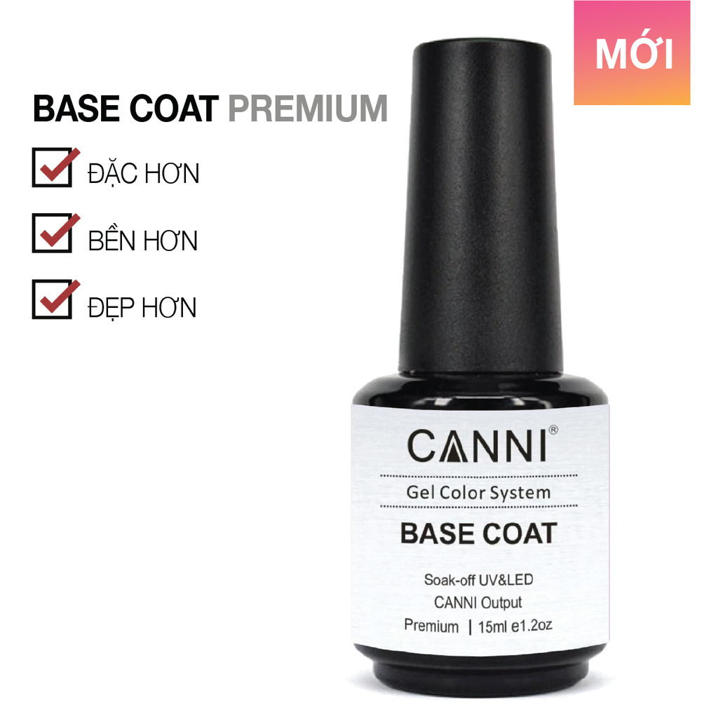 CANNI Base Coat Premium 15ml