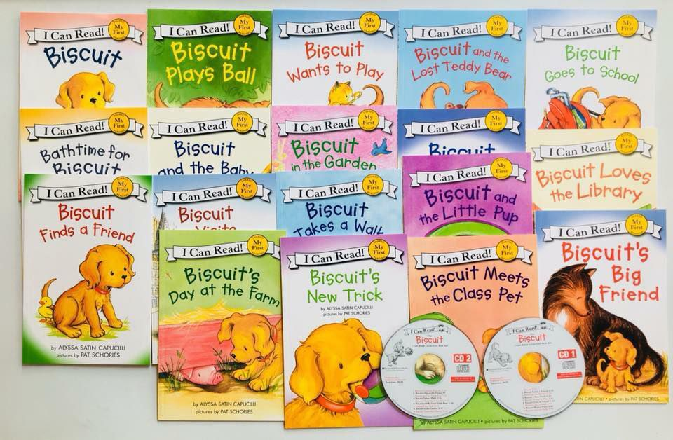 I Can Read-Biscuit 18 Book+2 CD