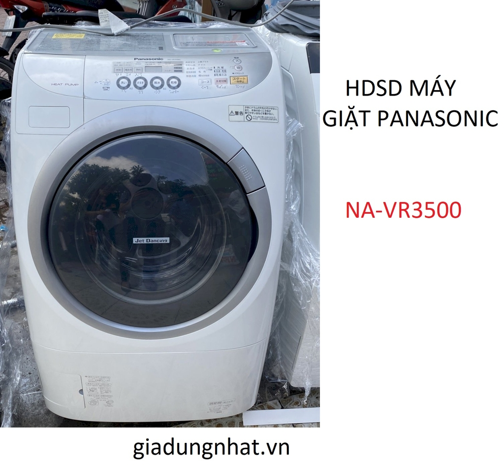 HDSD MÁY GIẶT SẤY BLOCK PANASONIC NA-VR3500