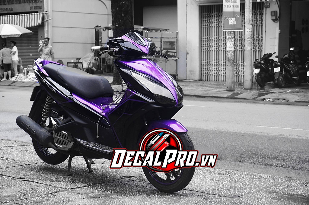 Tem xeAir Blade 2014 Black Violet Lighting