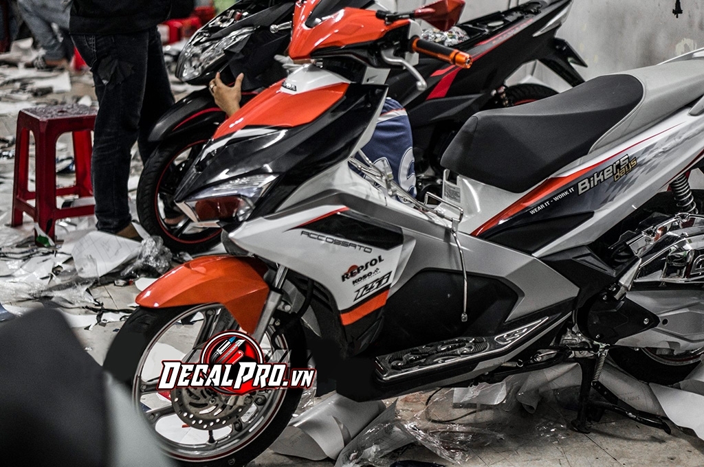 Tem xe Air Blade 2016 Bikers Day